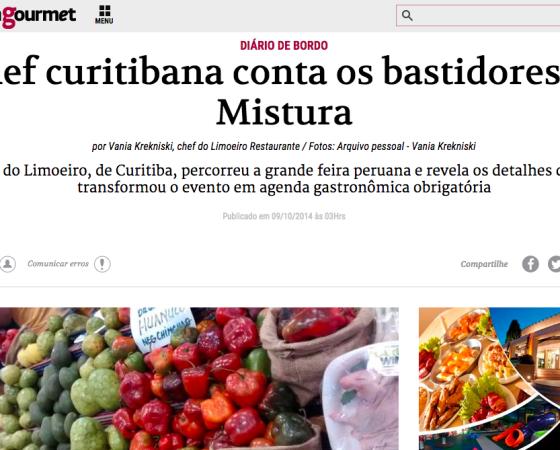 Relacionamento com a imprensa – Restaurante Limoeiro
